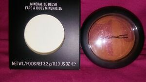 MAC Cosmetics Mineralize Blush EARTH TO EARTH NEW AUTHENTIC {{FREE SHIP}}