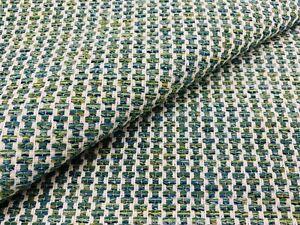 Thibaut Crypton Versatile Stripe Upholstery Fabric- Ryder / Emerald 1 yd W74086