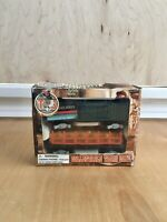 Ho Scale T & S Trains Collectible 2 Cars Log Carrier & Box Car