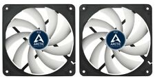2 x Pack of Arctic Cooling F12 120mm 12cm PC Case Fan, 1350 RPM, 53CFM, 3 Pin
