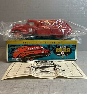 1939 Dodge Airflow Texaco Tanker Truck ~ 1:32 Die Cast Ertl Coin Bank ~ With Box