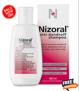 Anti Dandruff Shampoo For All Types Hair Flaky Itchy Scalp Treatment Nizoral Uk