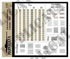 Diorama/Model Accessory - 1/35 Japanese Personal Papers  - WW2 (2 sheets)