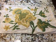 Pottery Barn Embroidered Lumbar Pillow Cover