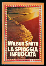 SMITH WILBUR LA SPIAGGIA INFUOCATA LONGANESI 1986 LA GAJA SCIENZA 152 PRIMA EDIZ