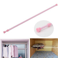 Adjustable Retractable Shower Curtain Hanging Rod Bathroom Window Tension Pole s