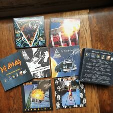 "DEF LEPPARD, ""THE CD BOX SET - VOLUME 1"",  6 DISCS PLUS BOOKLET, **NEW**"