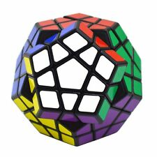 ShengShou Megaminx Brain Teaser Magic Cube Speed Twisty Puzzle Toy Black