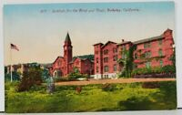 Berkeley California Institute for the Blind and Deaf c1910 Postcard D13