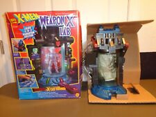 Marvel X-Men Weapon X Lab Wolverine Playset ToyBiz 1996 Adamantium Skeleton RARE