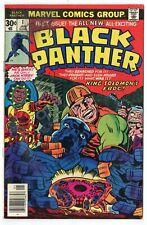 Black Panther #1 Fn- 5.5 Jack Kirby art Marvel 1977 No Reserve