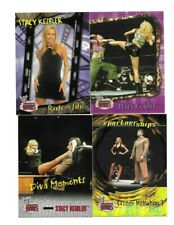 TOPPS WWE 4 SEXY STACY KEIBLER WRESTLING CARDS born in ROSEDALE MARYLAND LEGS