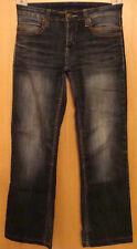 YESSICA Low DAMEN Stretch Jeans Boot Cut Jeanshose Denim Bluejean KG 36