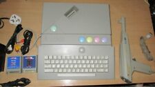 ATARI XE/'GS GAME CONSOLE WITH ACCESSORIES CONTROLLERS AND CARTRIDGE GAMES *VGC*