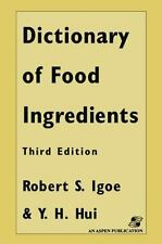 Dictionary of Food and Ingredients by Robert S. Igoe (2012, Paperback)