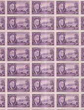 Full Mint Sheet of 50 #932 Roosevelt White House