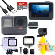 GoPro HERO 5 Negro Acción Impermeable 4K Ultra HD Cámara Pantalla Táctil kit