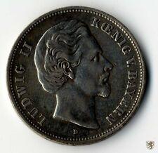 BAYERN, Ludwig II., 5 Mark, 1876 D, Jg. 42, sehr schön