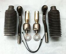 Toyota Landcruiser Prado 95 Inner Rack End Tie Rod End Pair+Rack Boots KIT 96-02