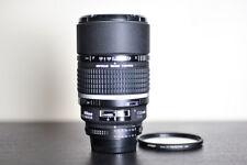 Nikon AF 135mm F/2 DC FX Portrait Lens w/ Tiffen UV Filter - MINT!