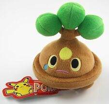 "New Pokemon Center 4.5"" Bonsly Stuffed Plush Doll Toy Great Gift"