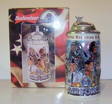 1999 ANHEUSER-BUSCH  / BUDWEISER HONORING TRADITION COURAGE AIR FORCE STEIN