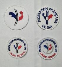 ecusson patch federation francaise de ski FFS cadre federal snowboard esf