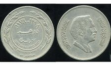 JORDAN  JORDANIE   100 fils  ( 1 dirham )  1978   ( etat )