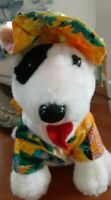 Vintage Rare NEW 1988 BUD LIGHT SPUDS MACKENZIE Plush party toy  Stuff Animal 8""