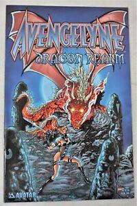 AVENGELYNE Dragon Realm #1 JUL 2001 Tim Vigil Variant Avatar Press NM