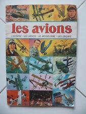Album collecteur d'images collées - Les AVIONS - SAGEDITION sans date