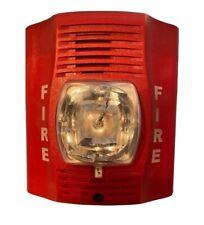 New listing System Sensor SpectrAlert Advance P2R (24V Dc) Red Wall Fire Alarm Horn Strobe