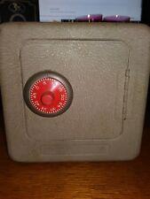 Vintage Small Metal Combination SAFE BANK