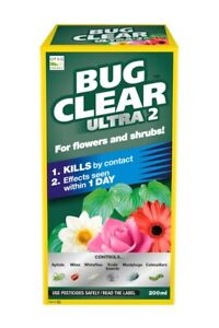 Bug Clear Ultra 2 Non Neonicotinoid Concentrate  200ml