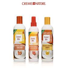 Creme of Nature Coconut Milk Shampoo, Conditioner, Leave-in Conditioner Set