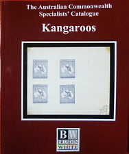 AUSTRALIA BRUSDEN WHITE 2017 KANGAROOS Commonwealth Specialists Catalogue COLOUR