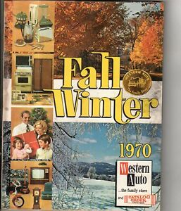 1970 Western Auto Fall and Winter Catalog-Lots of toys, Daisy, Aurora, pedal car