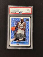 2007 Upper Deck All Star LEBRON JAMES Las Vegas Basketball Card  PSA 9 - RARE