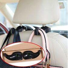 2 PCS Car Seat Headrest Hook Backseat Purse Hanger Bag Cloth Hanging Holder