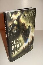 Old Man's War by John Scalzi SIGNED/NUMBERED 2007 Subterranean Press Hardcover