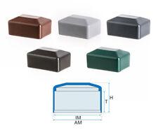 Abdeckkappen verschiedene Maße PVC Pfostenkappen glatt rechteckig 1721525