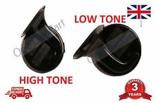 Pair of High / Low Tone Horns For Skoda Octavia Superb Yeti 12v High Quality