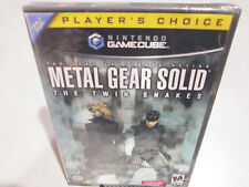 Metal Gear Solid The Twin Snakes Nintendo GameCube Brand New Factory Sealed Wii