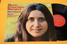 STOCKHAUSEN LP MARIE F BUCQUET  EX AVANT GARDE CONTEMPORARY ELECTRONIK