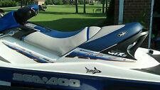 Seadoo 2002-06 GTX 4-tec, 2002 GTX di, ALLL RXT, 03-06 GTX wake Seat Cover BLUE