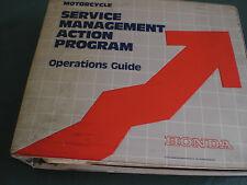 Genuine Honda Motorcycle Service Management Program Operations Guide Printed 82