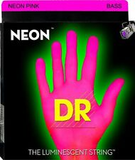 DR Neon PINK 5 String BASS Guitar Light 40-120 NPB5-40