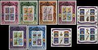 Queen Elizabeth Coronation Anniversary Souvenir Sheets Maldives Barbuda Antigua