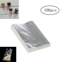 100pcs OPP Clear Bags for Bakery, Candy, Soap, Cookie and Valentine Gifts