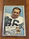 1952 Bowman Large Football Cards 38
